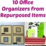10 Recycled Office Organizers