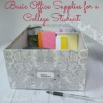 Office Supplies for College Students
