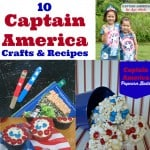 Captain America DIY Crafts and Recipes - Organized 31