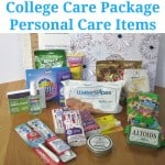 College Care Package – Personal Care Items Edition