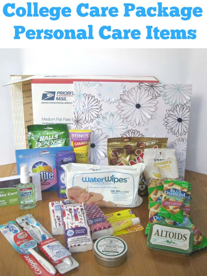College Care Package Personal Care Items Edition Organized 31