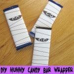 DIY Mummy Candy Bar Wrapper