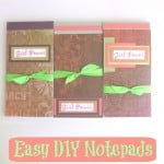 Easy DIY Notepad