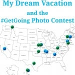 My Dream Vacation #GetGoing - Organized 31 #MC #sponsored