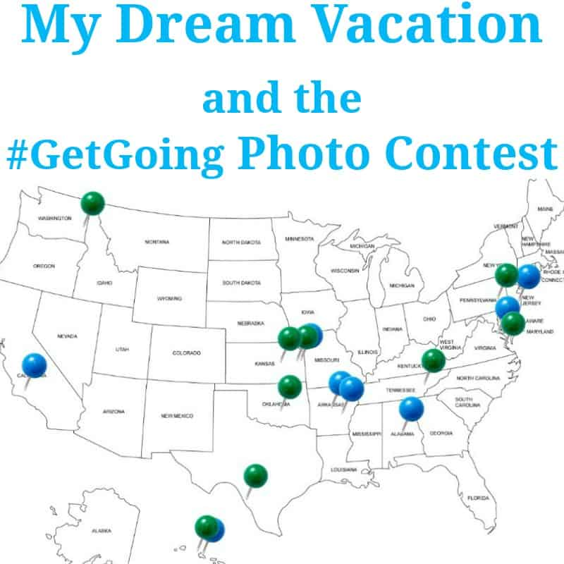 My Dream Vacation #GetGoing - Organized 31 #MC #sponsored