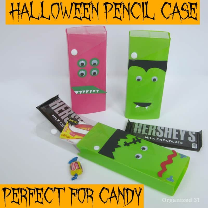 Halloween Pencil Case Gift - Organized 31