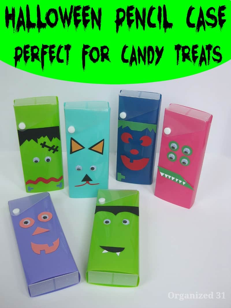 Halloween Pencil Case Gift - Organized 31