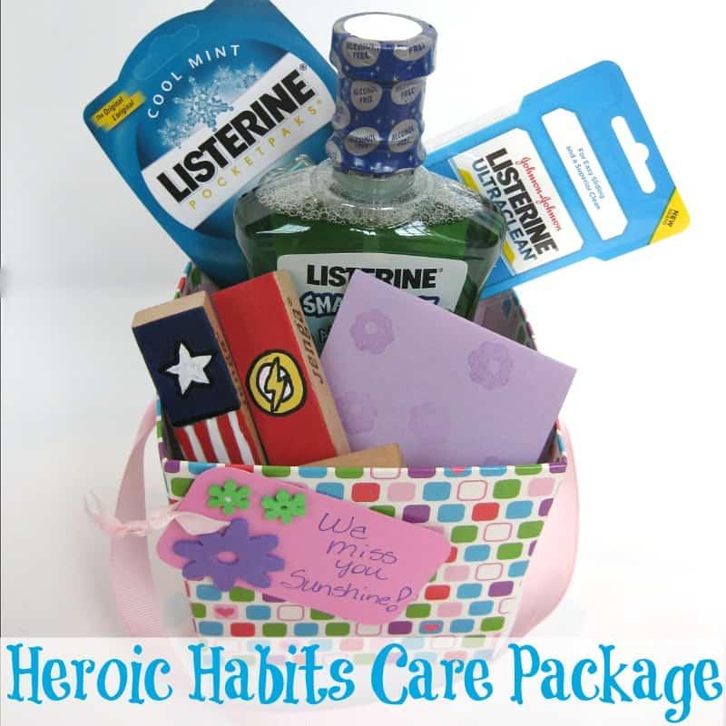 Heroic Habits Dental Care Package - Organized 31 #sponsored #MC