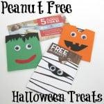 Peanut Free Halloween Treat Envelope