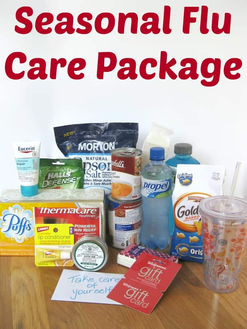 Seasonal Flu Care Package - Organized 31