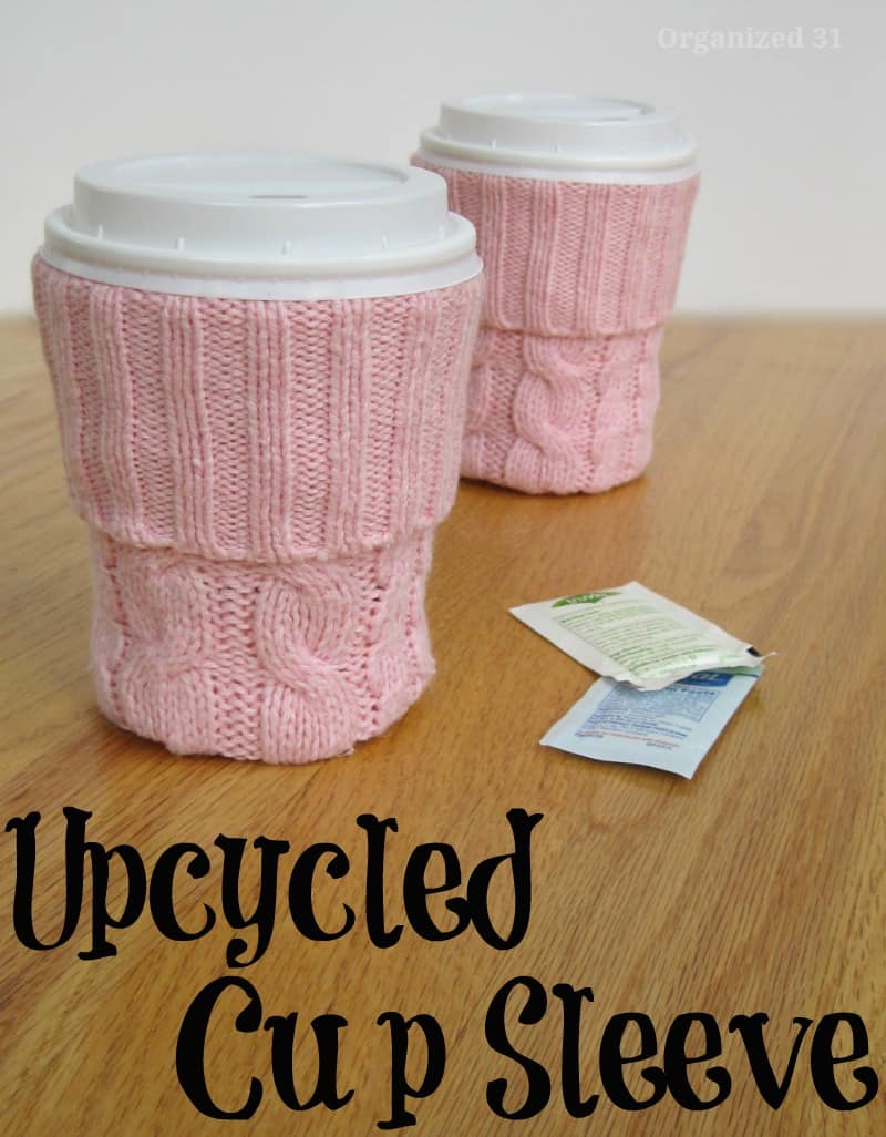 DIY Cup Sleeve - Organized 31