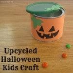 Upcycled Halloween Kids Craft