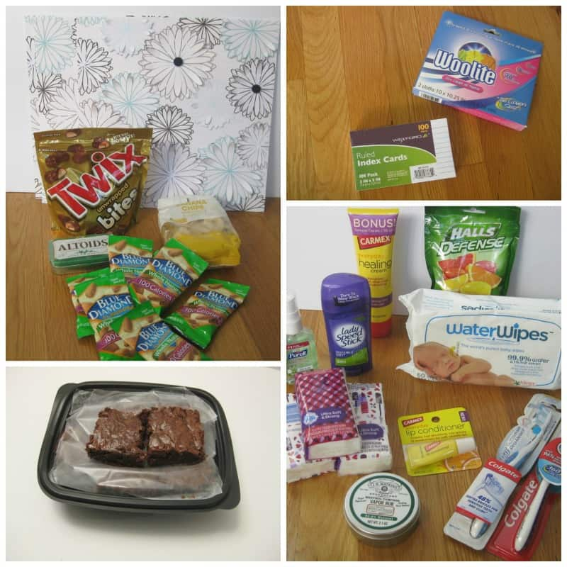 College Care Package - Personal Care Items - Organized 31 #WaterWipes #sponsored