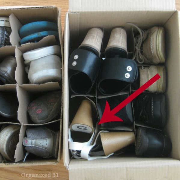 the best way for packing moving storing shoes. Black Bedroom Furniture Sets. Home Design Ideas