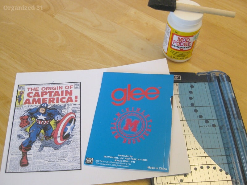 Diy Captain America Notebook - Organized 31 #captainamerica