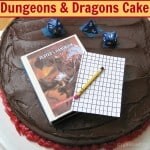 Dungeons and Dragons cake - Organized 31