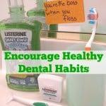 Encourage Healthy Dental Habits - Organized 31 #sponsored