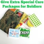 Give Extra Special Care Packages for Soldiers