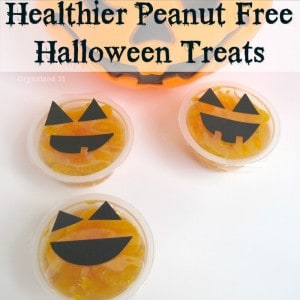Healthier Peanut Free Halloween Treats - Organized 31