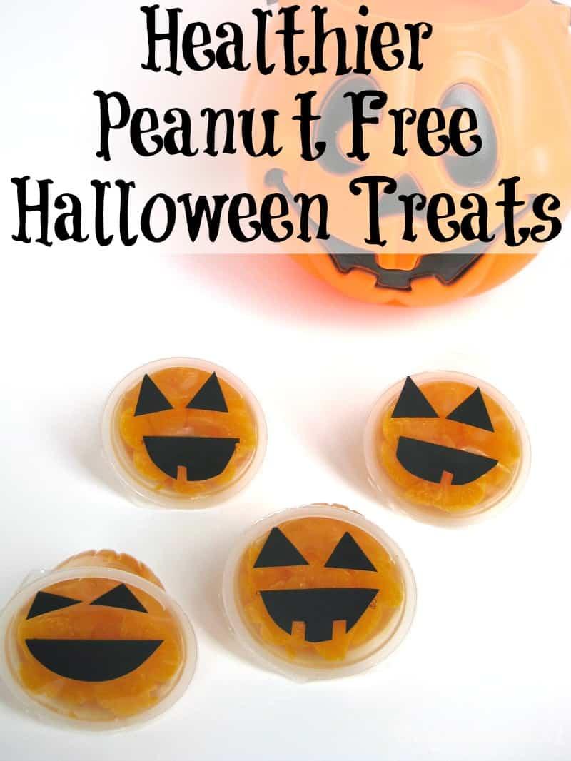 Healthier Peanut Free Halloween Treats - Organized 31