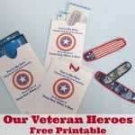 Thank Our Veterans Free Printable