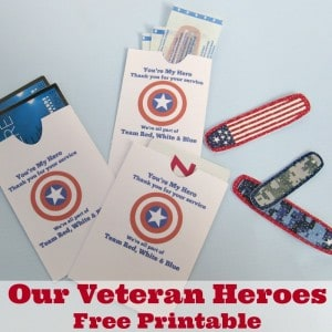 Our Veteran Heroes Free Printable - Organized 31 #RunWithGlory #sponsored #MC