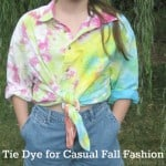 Tie-Dye Casual Fall Fashion