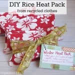 DIY Rice Heat Packs