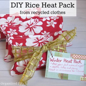 DIY Rice Heat Packs - Organized 31
