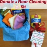 Donate a Floor Cleaning Kit - Organized 31 #CleanForTheHolidays #ad