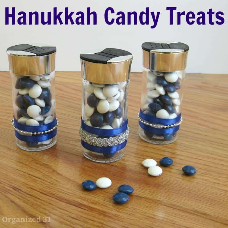 Hanukkah Candy Treats - Organized 31