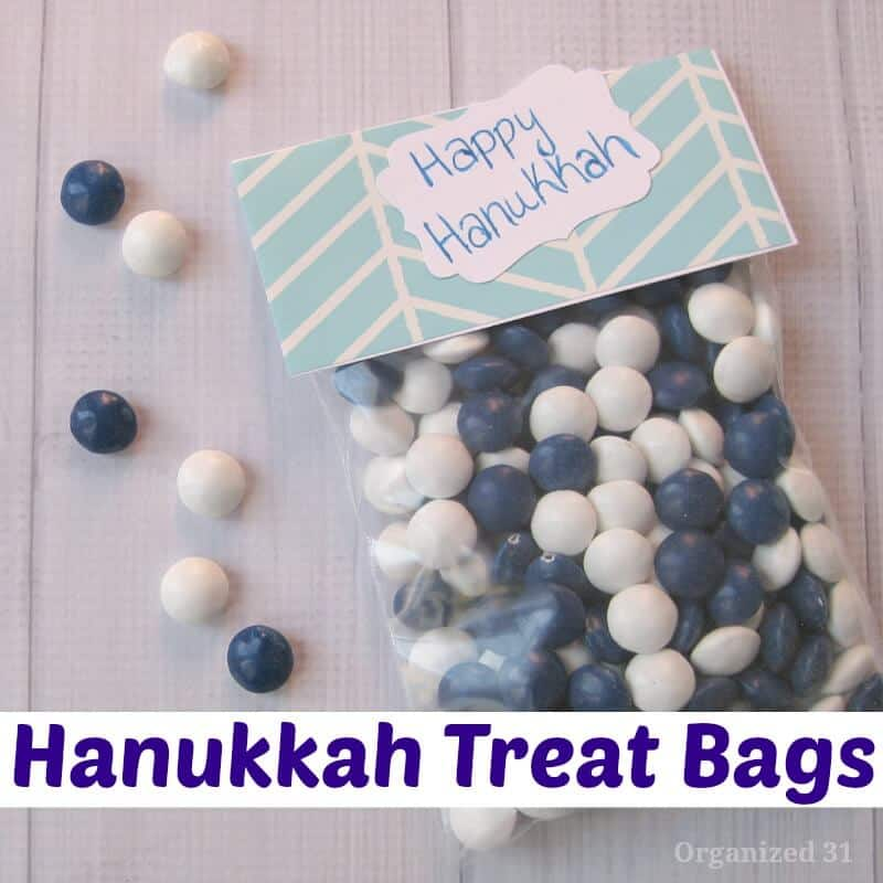 Hanukkah Treat Bags - Organized 31