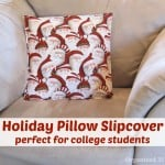 Christmas Pillow Slipcover