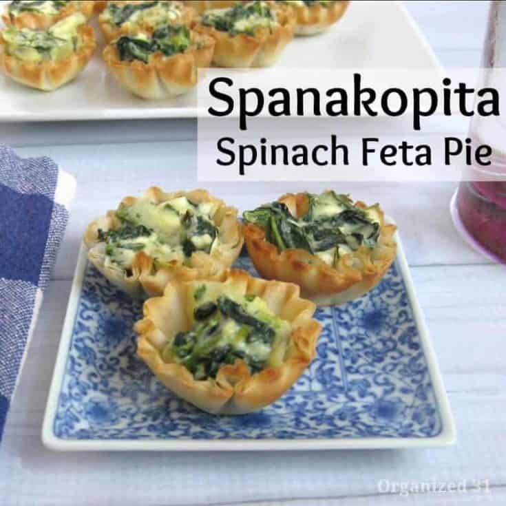 Spanakopita Spinach Feta Pie