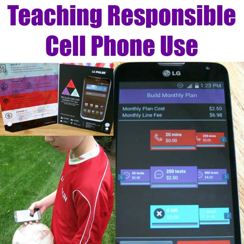 Teaching Responsible Cell Phone Use - Organized 31 #VirginMobileMom #MC #sponsored