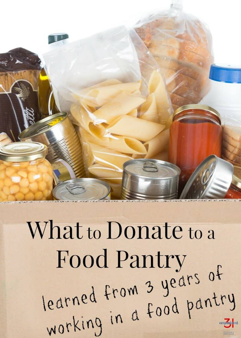 Tips on What to Donate to a Food Bank I learned from 3 years of working in a food pantry. Food Drive #foodbank