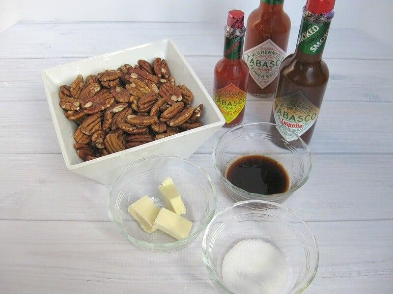 Warm Seasoned Pecans Recipe - Organized 31  #SeasonedGreetings #ad