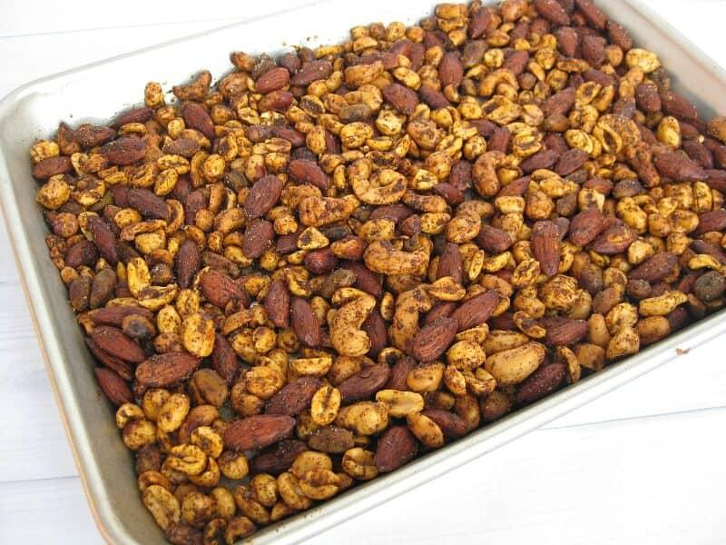 Chili Mixed Nuts Recipe - Organized 31  #GoNutsforNuts #ad