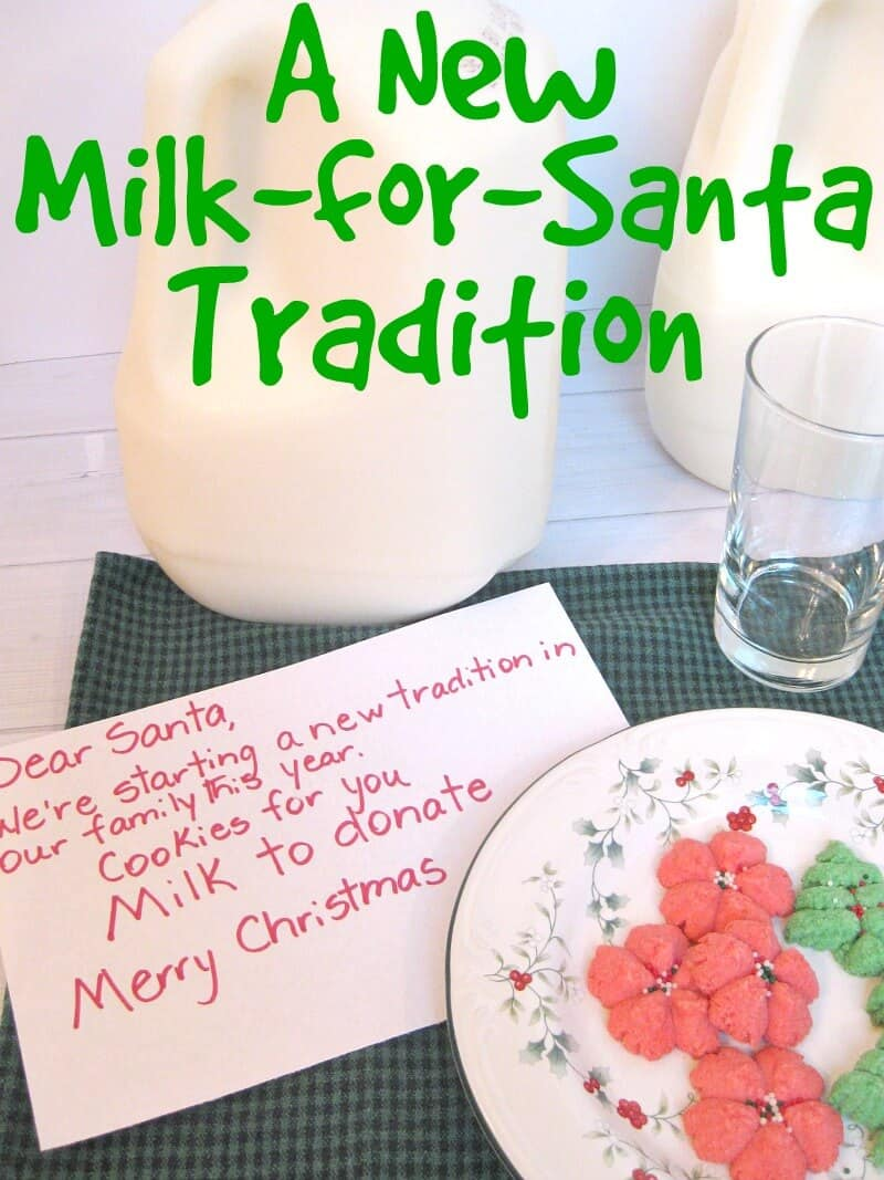 The Great American Milk Drive - A New Milk-for-Santa Tradition - Organized 31   #MilkDrive #CG #sponsored