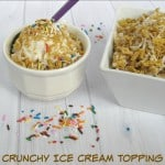 Crunchy Ice Cream Topping