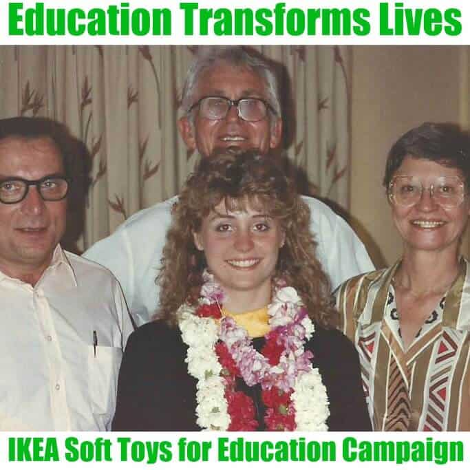Education Transforms Lives - Organized 31 #IKEASoftToysEdu #CleverGirls #sponsored