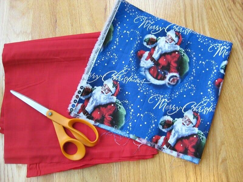 DIY Santa Sack - Organized 31 #NorthPoleFun #Ad