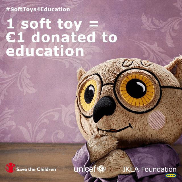 Education Transforms Lives - Organized 31 #IKEASoftToysEdu #CleverGirls #sponsored