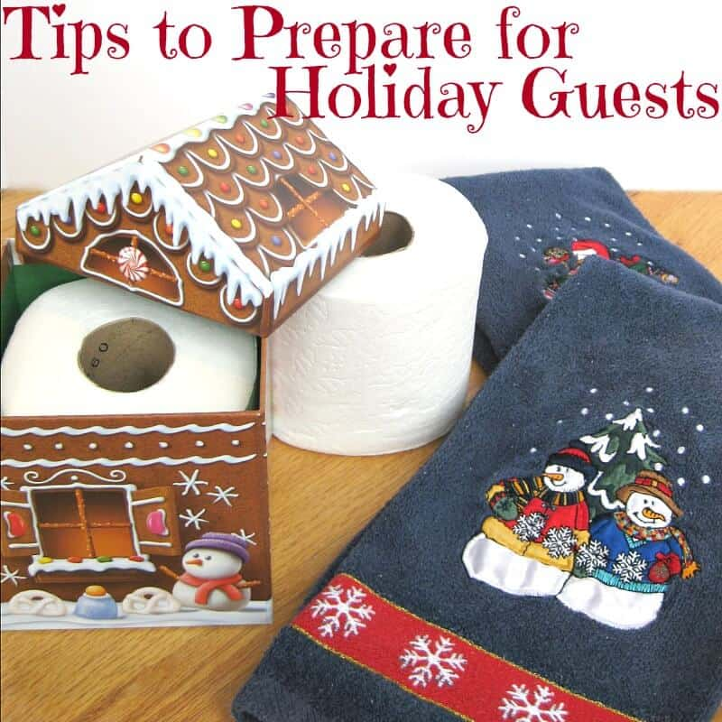 Easy Tips to Prepare for Holiday Guests – Organized 31 #TweetfromtheSeat #IC #sponsored