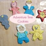 3 DIY Adventure Time frosted cookies