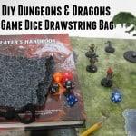 DIY Dungeons and Dragons Drawstring Bag