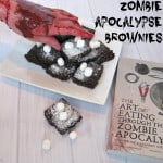 Zombie Apocalypse Brownies - Organized 31 #ZpocWinter #sponsored