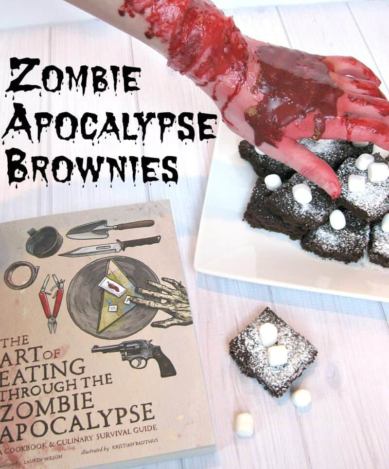 Zombie Apocalypse Brownies vert