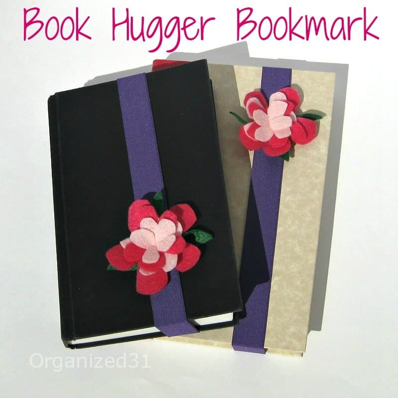 Felt Flower Book Huggers -Organized 31