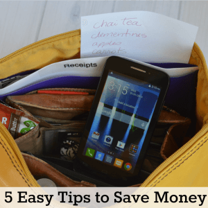 5 Easy Tips to Save Money